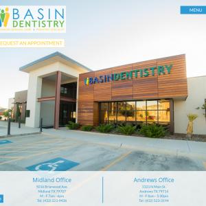 Basin Dentistry website