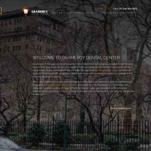 Gramercy Dental Center website