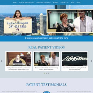 Houston Health and Wellness website