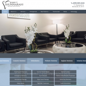Montevallo Family Dentistry website