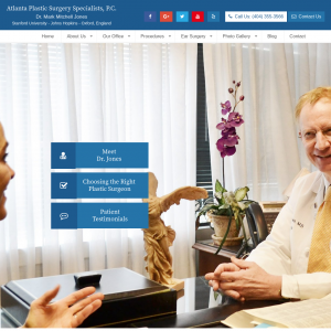 Atlanta Plastic Surgery Specialists, P.C. website