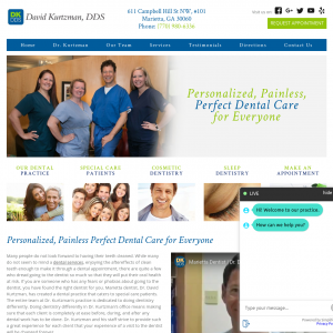 Dr. David Kurtzman – Comprehensive Dental Care website