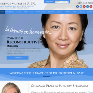 Dr. Florence Mussat website
