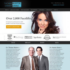 Dr. Thomas Mustoe – TKLM Plastic Surgery website