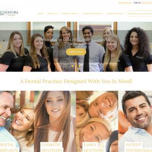 Gold Hill Dentistry website