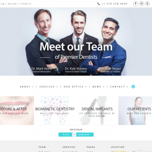 Helm Nejad Stanley – Dentistry website