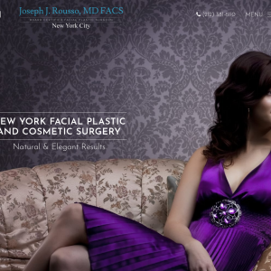 Joseph J. Rousso, MD FACS – New York Facial Plastic and Cosmetic Surgery website