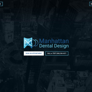 Manhattan Dental Design website