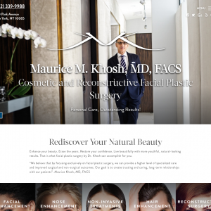 Maurice M. Khosh, MD, FACS website