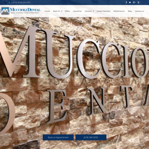 Muccioli Dental website
