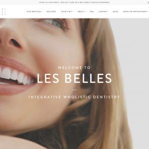 Les Belles NYC website