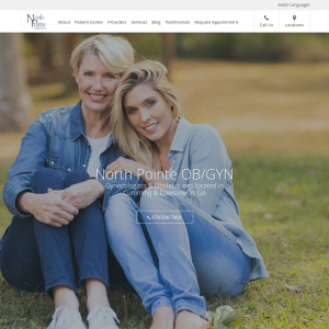 North Pointe OB/GYN Associates website