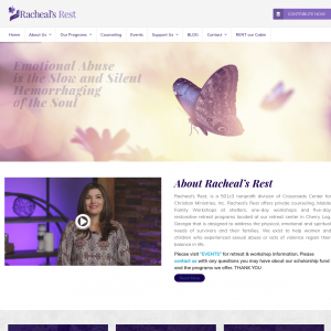Racheal's Rest – Sexual Abuse Counselors website