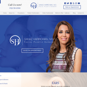 Sanaz Harirchian, M.D. – Facial Plastic Surgery website
