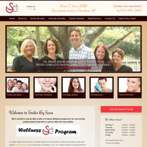 Smiles by Seese website