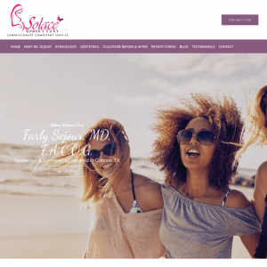 Solace Woman's Care website