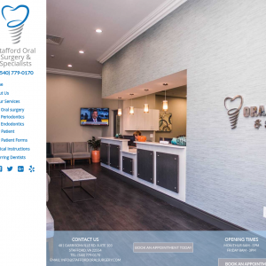 Stafford Oral Surgery & Specialists website