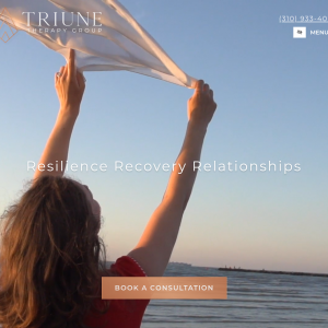 Triune Therapy Group website
