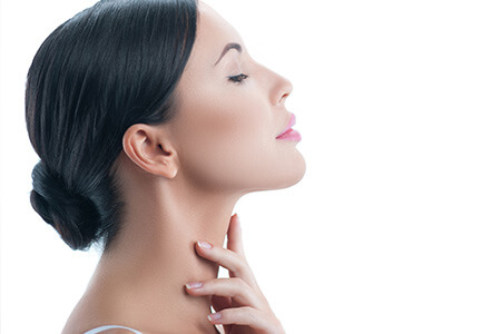 woman with excelent skin