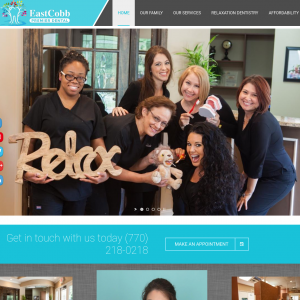 East Cobb Premier Dental website