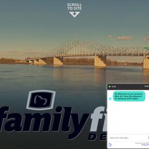 Family First Dental website