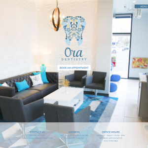 Ora Dentistry website