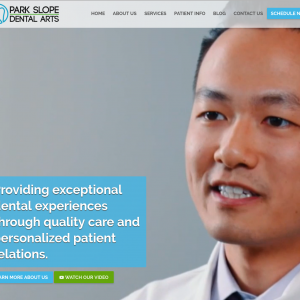 Park Slope Dental Arts website