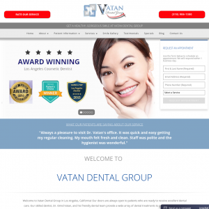 Vatan Dental Group website