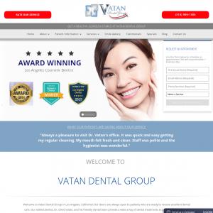 Vatan Dental Group website