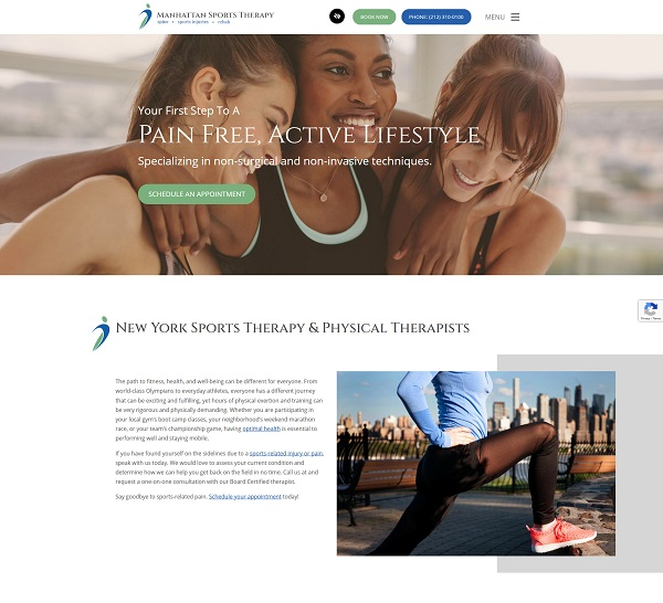 Dr. Rolland Nemirovsky of Manhattan Sports Therapy website