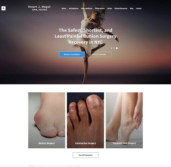 Foot & Ankle Surgeon – Stuart J. Mogul, DPM, FACFAS website