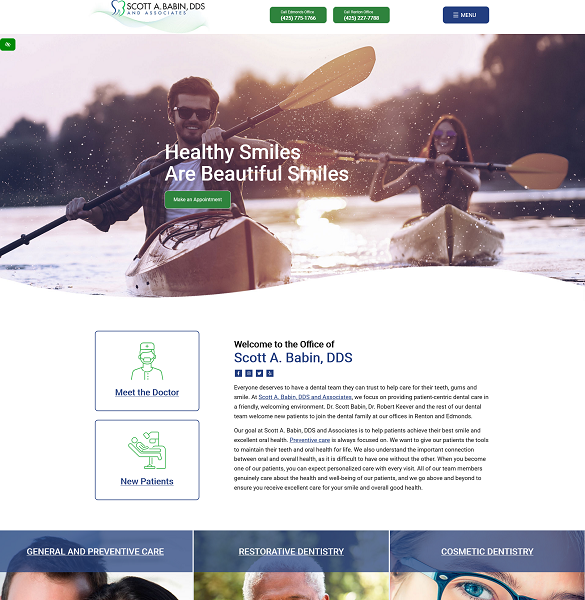 Scott A. Babin, DDS & Associates website