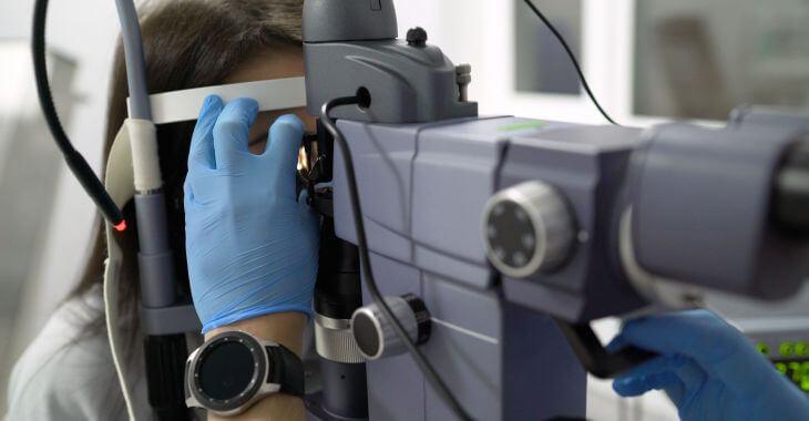 Laser Iridotomy for Glaukoma Procedure